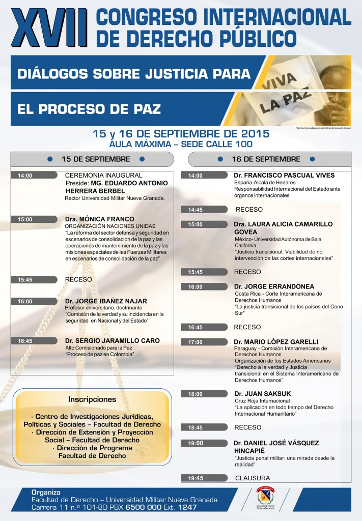XVII CONGRESO INTERNACIONAL DERECHO PUBLICO